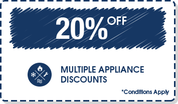 Multiple Appliance Discounts